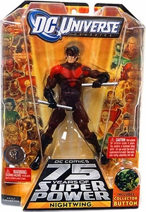DC Universe Classics 75 Years of Super Power Action Figure Nightwing {Red & Black Variant} [Includes Collector Button]