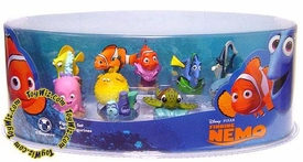 Disney / Pixar Finding Nemo Movie Exclusive 9 Piece Mini PVC Figure Collector Set
