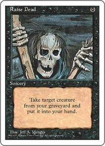 Magic the Gathering Fourth Edition Single Card Common Raise Dead
