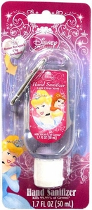Disney Princess Cinderella Hand Sanitizer with Backpack Clip