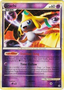 Pokemon Legend: HS Unleashed Single Card Rare Holo #1 Jirachi