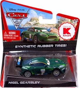 Disney / Pixar CARS 2 Movie Exclusive 1:55 Die Cast Car with Synthetic Rubber Tires Nigel Gearsley