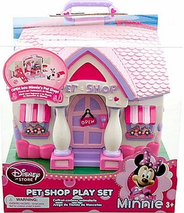 Disney Exclusive Minnie Mouse Pet Shop Playset