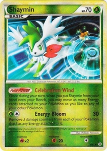 Pokemon Legend: HS Unleashed Single Card Rare Holo #8 Shaymin