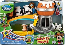 Disney Mickey Mouse Exclusive Playset Mickey's Dairy Farm