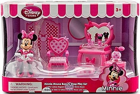 Disney Exclusive Minnie Mouse Beauty Shop Play Set