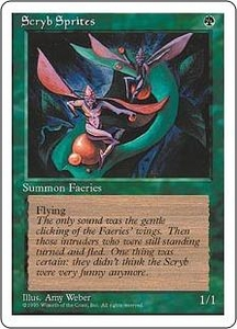 Magic the Gathering Fourth Edition Single Card Common Scryb Sprites