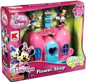 Disney Exclusive Minnie Mouse Flower Shop Play Set