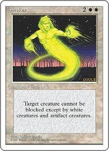 Magic the Gathering Fourth Edition Single Card Common Seeker