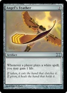 Magic the Gathering Tenth Edition Single Card Uncommon #311 Angel's Feather
