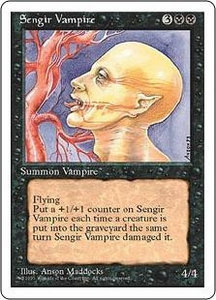Magic the Gathering Fourth Edition Single Card Uncommon Sengir Vampire