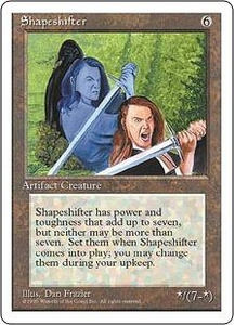 Magic the Gathering Fourth Edition Single Card Uncommon Shapeshifter