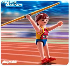 Playmobil Athletes Set #5201 Javelin Thrower