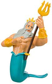 Disney Little Mermaid Exclusive 4 Inch LOOSE PVC Figure King Triton