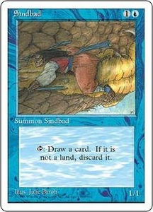 Magic the Gathering Fourth Edition Single Card Uncommon Sindbad