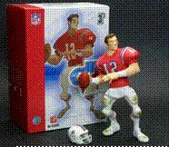 Upper Deck Authenticated All Star Vinyl Figure 2007 Tom Brady [Retro Red Jersey] BLOWOUT SALE! Only 500 Made!