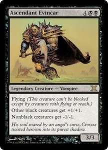Magic the Gathering Tenth Edition Single Card Rare #127 Ascendant Evincar