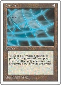 Magic the Gathering Fourth Edition Single Card Uncommon Soul Net