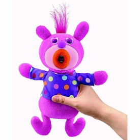 SingAMaJigs Plush Doll Series 1 Figure PINK with Purple Shirt & Polka Dots [Skip To My Loo]