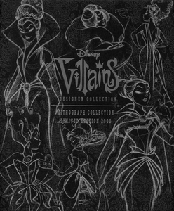 Disney Villains Designer Collection Lithograph Collection Limited Edition of 2000