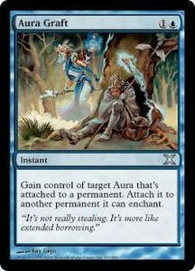 Magic the Gathering Tenth Edition Single Card Uncommon #67 Aura Graft