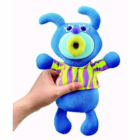 SingAMaJigs Plush Doll Series 1 Figure BLUE with Tiger Striped Shirt [When The Saints Go Marching In]