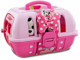 Disney Exclusive Minnie Mouse Vet Care Play Set with 7 Inch Plush Figaro