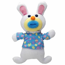 SingAMaJigs Plush Doll Easter Figure WHITE with Easter Egg Shirt [Here Comes Peter Cottontail]