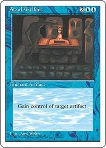 Magic the Gathering Fourth Edition Single Card Uncommon Steal Artifact