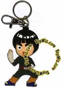 Naruto Accessories Official Keychain Chibi Rock Lee