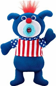 SingAMaJigs Plush Doll Exclusive Figure BLUE with Stars & Stripes Shirt[Star Bangled Banner]