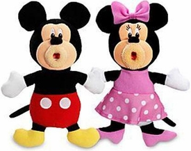 SingAMaJigs Plush Doll Mickey Mouse Clubhouse Figure 2-Pack Mickey & Minnie
