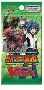 Cardfight Vanguard ENGLISH VGE-BT07 Rampage of the Beast King Booster Pack