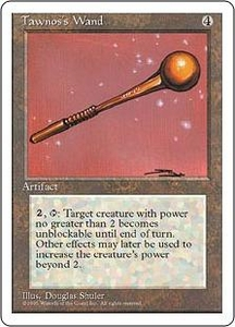 Magic the Gathering Fourth Edition Single Card Uncommon Tawnos's Wand
