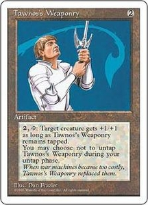 Magic the Gathering Fourth Edition Single Card Uncommon Tawnos's Weaponry
