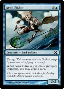 Magic the Gathering Tenth Edition Single Card Common #68 Aven Fisher