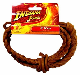 Indiana Jones Rubies Costume #8184 Indiana Jones Whip [4 Feet Long!]