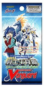 Cardfight Vanguard ENGLISH VGE-BT01 Descent of the King of Knights Booster Pack