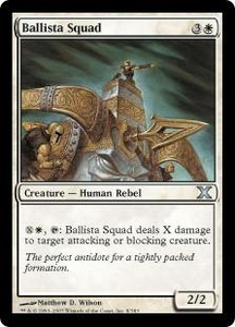 Magic the Gathering Tenth Edition Single Card Uncommon #8 Ballista Squad