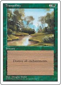 Magic the Gathering Fourth Edition Single Card Common Tranquility