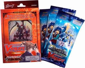 Cardfight Vanguard ENGLISH Trial Starter Deck Dragonic Overlord Value Bundle [Trial Deck & 3 Random Boosters]