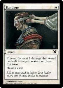 Magic the Gathering Tenth Edition Single Card Common #9 Bandage