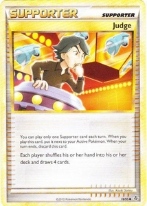 Pokemon Legend: HS Unleashed Single Card Uncommon #78 Judge
