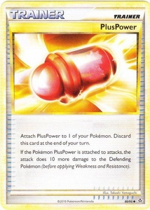 Pokemon Legend: HS Unleashed Single Card Uncommon #80 PlusPower