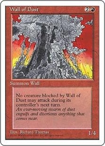 Magic the Gathering Fourth Edition Single Card Uncommon Wall of Dust