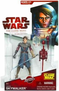Star Wars 2009 Clone Wars Animated Action Figure CW No. 21 Anakin Skywalker [Space Suit]