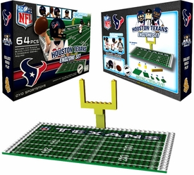OYO Football NFL Generation 1 Team Field Endzone Set Houston Texans