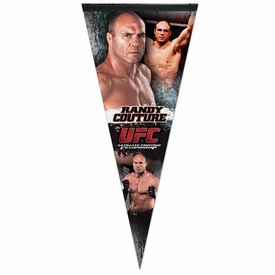 Wincraft UFC & MMA Mixed Martial Arts Premium Pennant Randy Couture
