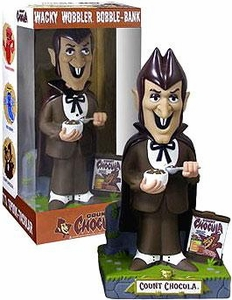 Funko General Mills 12 Inch Wacky Wobbler Bobble Head Bank Count Chocula Only 1,000 Made!