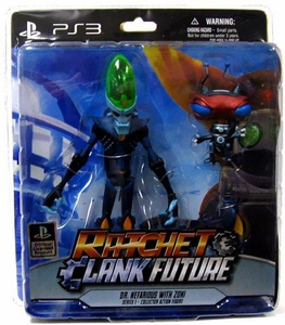 DC Direct Ratchet and Clank Future Series  1 Action Figure Dr. Nefarious & Zoni